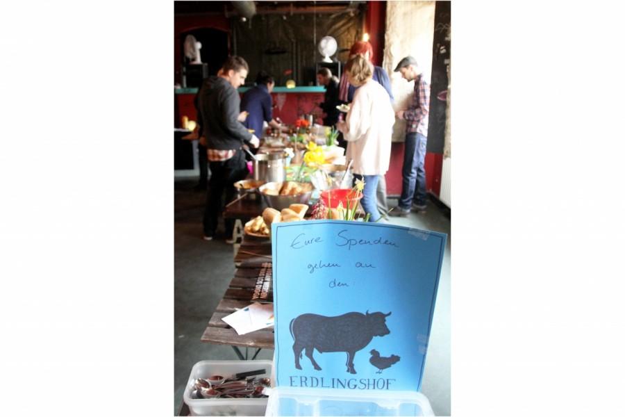 Spenden veganer Frühlings-Brunch Dresden