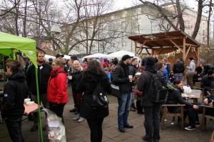 der erste vegane Wintermarkt in Dresden