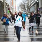 Flashmob Weltwassertag 2016