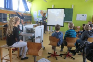 Vortrag in der Montessorischule in Dresden 2015