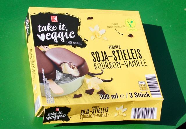 veganes Milcheis: Take it Veggie - Soja-Stieleis Bourbon-Vanille