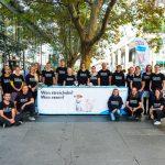 Die Aktiven zum Silent September 2019 in Dresden stehen versammelt zu einem Gruppenfoto.