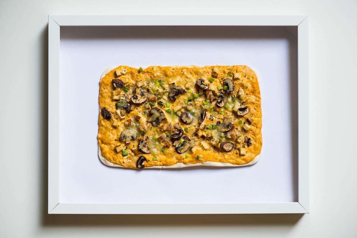 Pizzaflammkuchen
