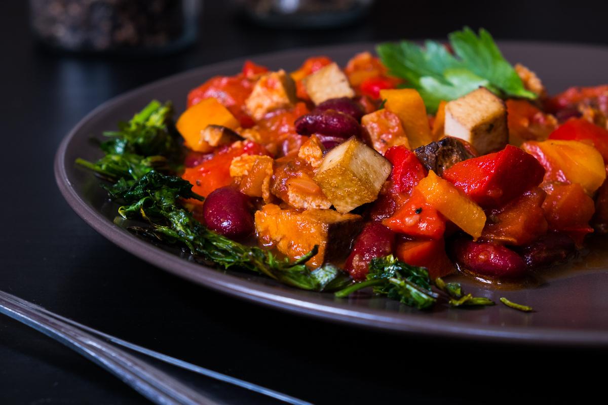 Chili sin carne con soja